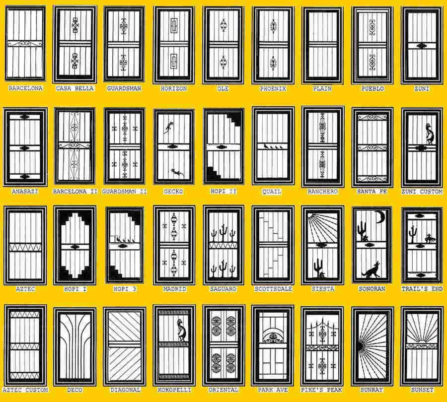 phoenix security screen doors phoenix steel security door scottsdale tempe